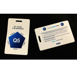 Quality Policy Badge Cards (Q5 cards)