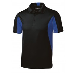 Mens Mentor Side Blocked Micropique Sport-Wick® Polo
