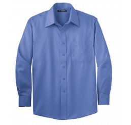 Mens Long Sleeve Non-Iron Twill Shirt