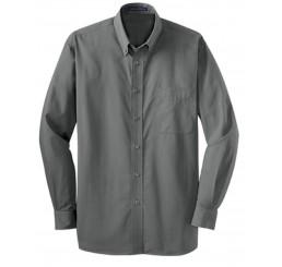 Men's Tonal Pattern Easy Care Shirt