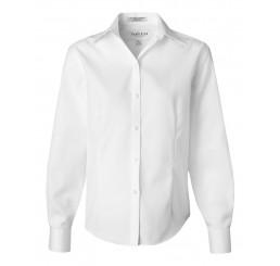 Van Heusen - Ladies' Non-Iron Pinpoint Oxford Shirt