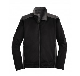 Ladies Two-Tone Soft Shell Jacket