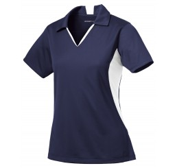 Ladies Side Blocked Micropique Sport-Wick® Polo