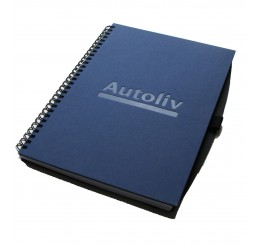 Large Hard Cover Spiral Notebook