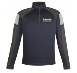 North End Interlock Quarter-Zip