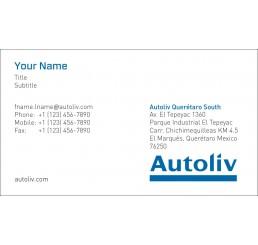 Business Card (Autoliv Mexico)