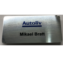 Autoliv Name Badge