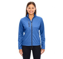 Ash City - North End Ladies' Trace Printed Fleece Jacket