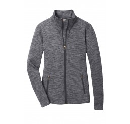 Port Authority® Ladies Digi Stripe Fleece Jacket